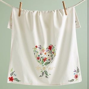 Anthropologie Tying the Knot Tea Towel